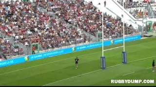 preview picture of video 'Football-Rugby in France 2013 Toulon Marseille 2nd half'