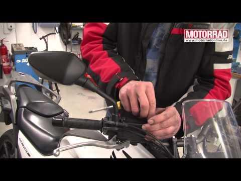 MOTORRAD-Werkstatt: Einsteiger-Grundcheck mit Gerry