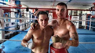 Boxeo en Bilbao: Décimo asalto sparring Jon Fernández vs Diego Valtierra