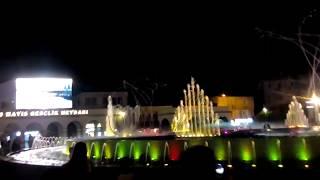 Marmaris fountain-show  2018, Turkey