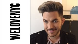 Midtown: Adam Lambert on dream guy and original high tattoo