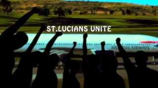 St.Lucians  Unite by  Sandra Lorde      digital remake by jiggymaxx  2013
