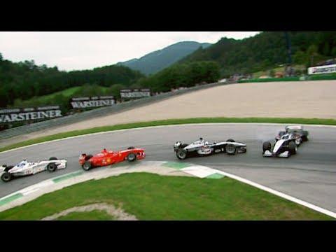 When Team Mates Collide | 1999 Austrian Grand Prix
