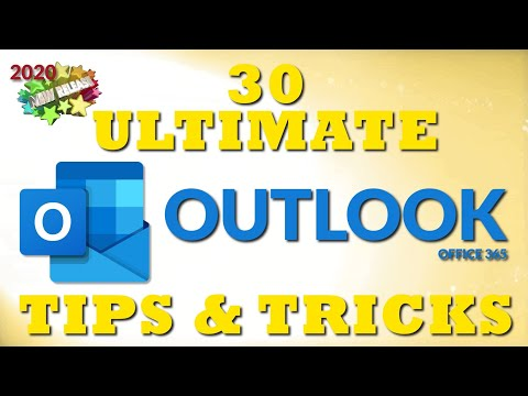 30 Ultimate Outlook Tips and Tricks for 2020 - YouTube