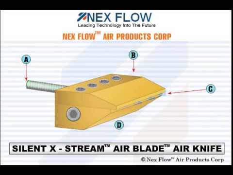 Hardened X Stream Air Blade Knife