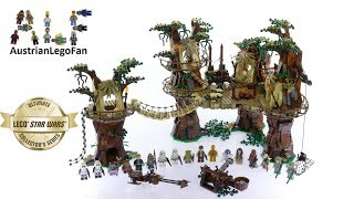 Lego Star Wars 10236 Ewok Village Ultimate Collectors Series - Lego Speed Build Review