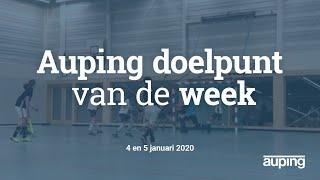 Auping Doelpunt van de Week: 4 en 5 januari 2020!