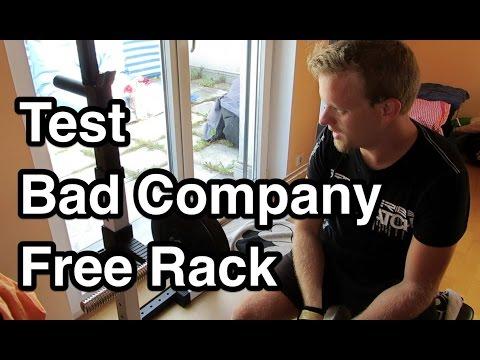 Test Bad Company BCA-29 Free Rack | Hantelablage | Langhantelablage | Kniebeugenständer Test