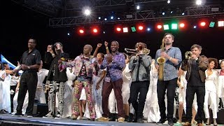 Angelique Kidjo, Burning Down The House, Summerstage, NYC 9-27-18