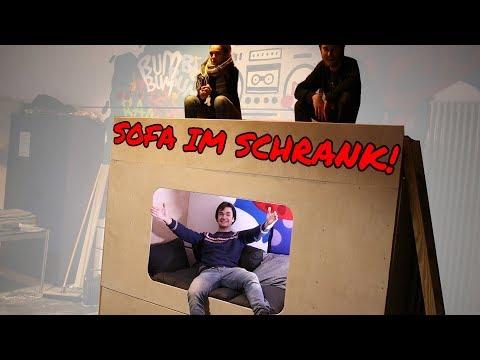 Schrank-Sofa selber bauen! | OxTour F.12