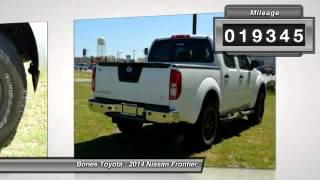 2014 Nissan Frontier Roanoke Rapids NC X7097