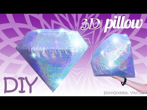 Kissen in Diamantform - So nähst du dir es selbst