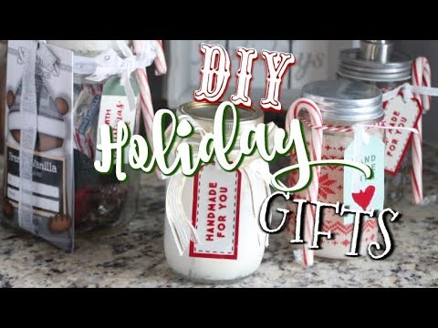 Holiday DIY MASON JAR GIFTS!