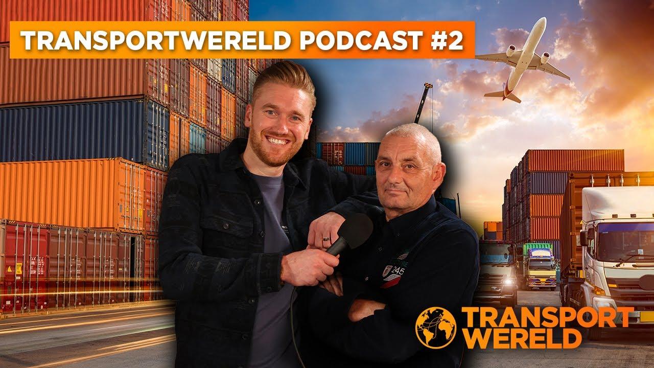 #2 Transportwereld Podcast: Dit is de oplossing voor het chauffeurstekort!