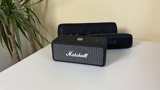 Marshall Emberton VS Soundcore Motion + und Tribit XSound Surf Soundcheck