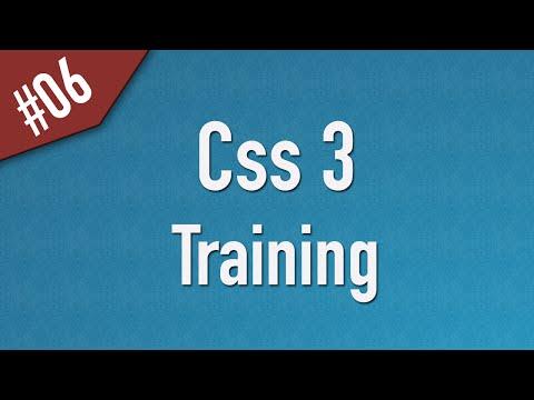 تعلم CSS3 القائمة #1 الفديو #6