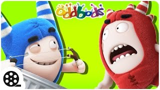 Oddbods VS Pogo's Pranks | Pogo The Menace | Funny Cartoons For Children