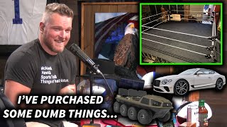Pat McAfee Talks Some Of His Dumb Purchases