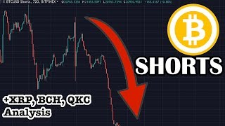 BITCOIN Shorts TANKING! What does it mean for Bitcoin? XRP RIPPLE, Bitcoin Cash BCH, QKC analysis