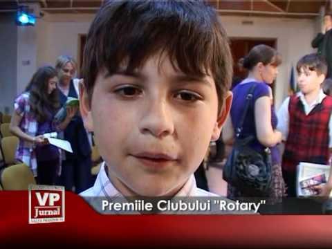 "PREMIILE CLUBULUI ""ROTARY"""