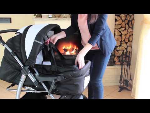 Kombikinderwagen Rodeo mit Babyschale für Isofix geeignet