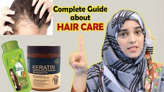 All About HAIR CARE Issues (Frizzy, Dry Hair +Hair Fall + Keratin + Rebonding)....... (Eng Sub)
