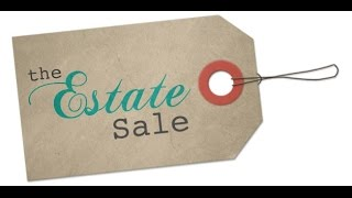 How to make money buying at estate sales. Vintage & Retro Items