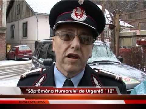 """""""Săptămâna Numărului de Urgenţă 112"""""""