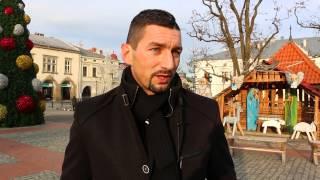 Dariusz Dudek: Wywiad na krośnieńskim rynku