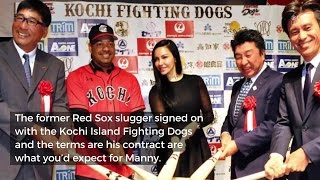 Manny's Contract In Japan: Doesn't Have To Practice, Unlimited Sushi