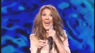 celine dion some funny moments