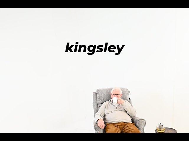 Kingsley Standard Leatherette Rise & Recline Single Motor Chair Video