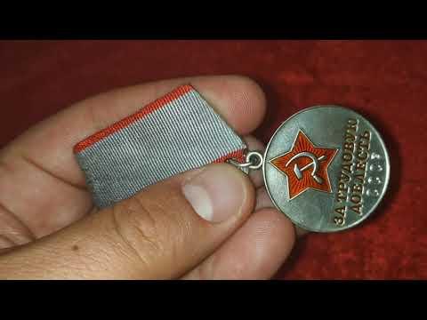 Медаль За трудовую доблесть.