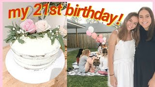 MY 21ST BIRTHDAY PARTY!   + the planning process! ♡