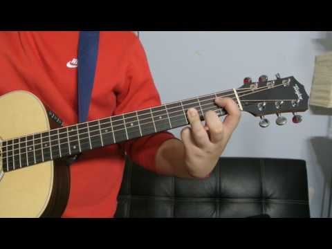 How to play a E Flat Major 7th (Chord Guitar Tutorial!!)