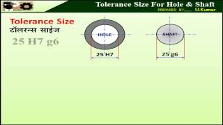 38 How To Indicate Tolerance Size For Hole And Shaft