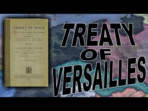 HoI4 - Waking the Tiger - Following the Treaty of Versailles