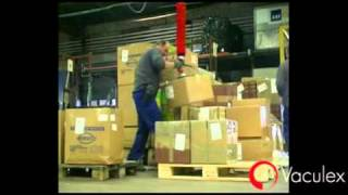 Airport Baggage Handling and Air Cargo Handling - using Vaculex TP