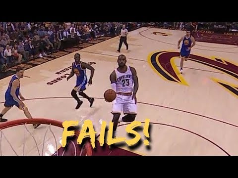 NBA Failed Self Alley Oops