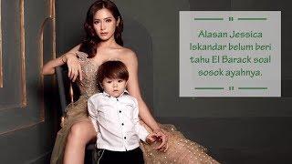 Jessica Iskandar Belum Beritahu sang Anak soal Siapa Sosok Ayahnya