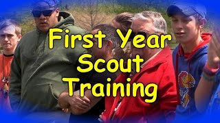 First Year Scout Training