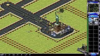 Red Alert 2 & Yuri's Revenge - Defense statue of liberty [Testing map]