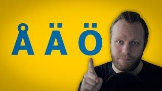 How to say ÅÄÖ (Swedish Umlauts)