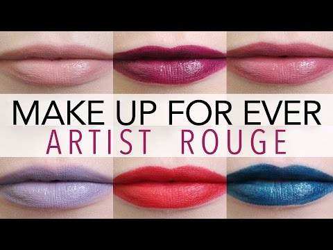 Artist Rouge 7 Lipstick Palette by Make Up For Ever #4