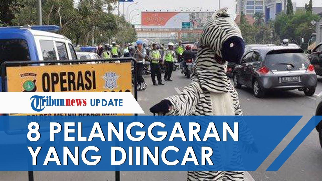Operasi Zebra Dimulai Hari Ini Senin 26 Oktober 2020, Ini 8 Pelanggaran yang Diincar Polisi