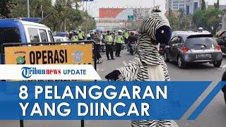 POPULER: Berikut 8 Pelanggaran yang Jadi Incaran Polisi saat Operasi Zebra, Dimulai Senin 26 Oktober