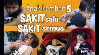 ANAK KEMBAR 5 SAKIT SATU SAKIT SEMUA Video thumbnail
