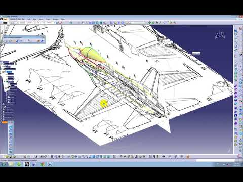 DOWNLOAD: Catia V5 Tutorial |How to design an Aircraft on