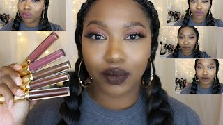 Lena Lashes Liquid Lipstick | Lip Swatches