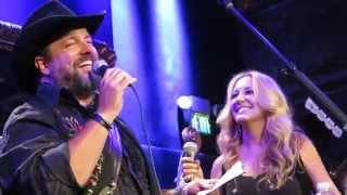 Raul dueting with LeeAnn Womack - Something Stupid